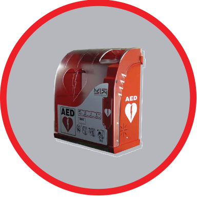 Smart Monitoring AED Cabinet