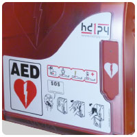 AED CABINET AIVIA50 detail 4