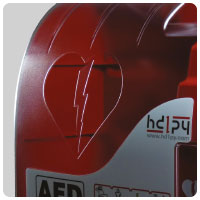 AED CABINET AIVIA50 detail 3
