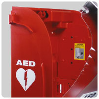 AED CABINET AIVIA50 detail 1