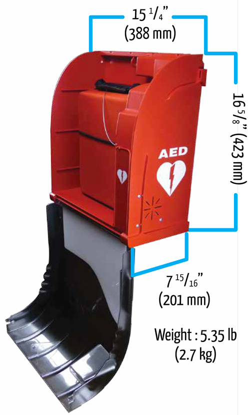 Schema AIVIA 50 - Inddor AED Cabinet by HD1PY